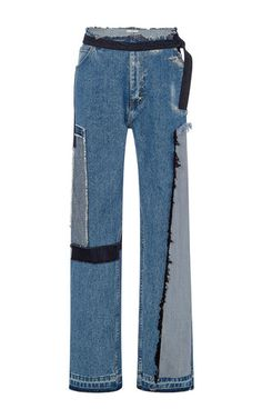 Tailored Jeans With Patches  by TOME for Preorder on Moda Operandi