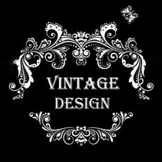 vintagedesign Vintage Designs, Techno, Decoupage, Shabby, Techno Music