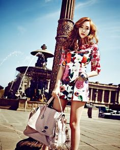 Jessica Jung SNSD Girls' Generation Vogue Girl Magazine June 2013 Paris