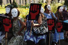 Manifestation contre la répression de la prostitution à Lyon Septembre 2011 copyright: Eric Le Roux