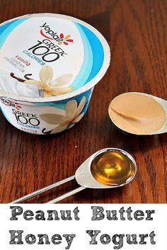 ... Butter And Honey Greek Yogurt Plus Other Yogurt Snack Ideas!! AD