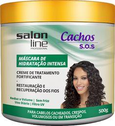 Salon Line apresenta novos integrantes para a linha S.O.S Cachos para um tratamento completo | Garota Jambo