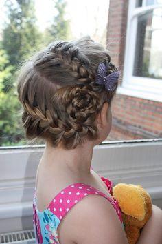 round braid with rosette