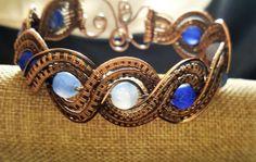 Blue Lace Bracelet by MoonSeekerDesigns.us