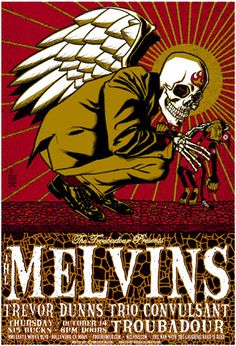 Brian Ewing. Rock Posters.