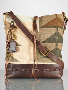 Serape-Print Tote - Tote Bags Handbags - Ralph Lauren France