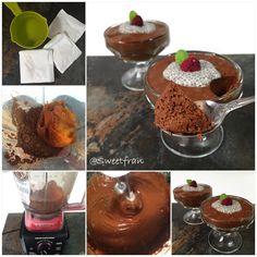 Mousse de calabaza y chocolate