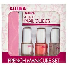 French Manicure Set | Poundland