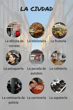 La ciudad #ELE #Spanish #A1