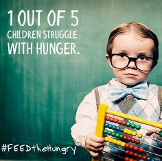 1 in 4 children go to bed hungry just in Arizona. - Find out how you can help!
