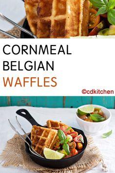 recipe: cornmeal waffles egg whites [17]