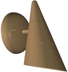 Jantzen Single Sconce Atomic Age Single Wall Sconce