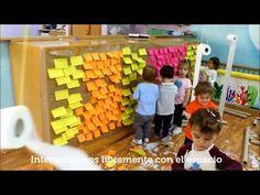 Escuela Infantil en Fuenlabrada: Trabajamos a través de Instalaciones Artísticas - YouTube Reggio Emilia, Messy Art, Artistic Installation, Baby Development, Baby Play, Activities For Kids, Acting, Kindergarten, Teacher