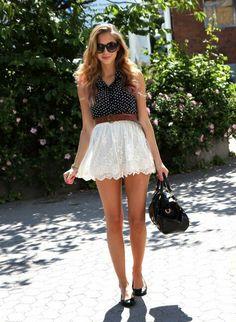 With longer skirt..