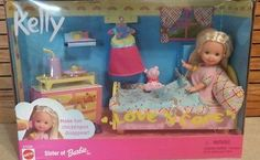 Kelly Love 'N Care Make Her Chicken Pox Set Sister of Barbie Mattel | eBay