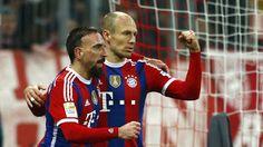Wolfsburg vs Bayern: Robbery hãy tái xuất đi nào