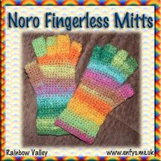Make these top down fingerless mitts with this free crochet pattern.