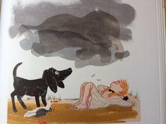 Illustratie van Gerda Dendooven uit 'Stella, ster van de zee'