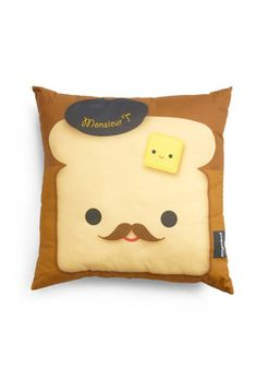 Fare and Square Pillow in French Toast  ^ ^