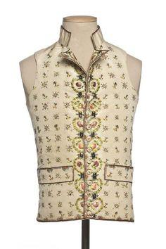 Waistcoat, 1795, French.