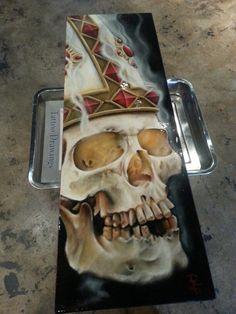 oilpainting done by Dave Rankin Birmingham AL. Skull / art / painting