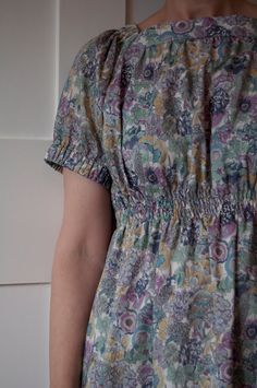style 'S' from Stylish Dress Vol 2 with shirred waist in Liberty by Harmony & Rosie
