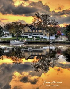 A glorious day in Mays Landing, NJ. Photo by John Loreaux.