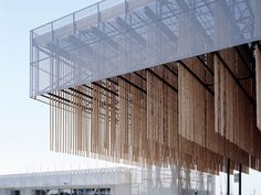 Kengo Kuma - International Garden and Horticulture Exhibition entry building, Shizuoka 2003.