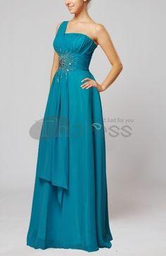 Long Evening Dresses-Elegant Sleeveless Chiffon Floor Length Paillette Homecoming Dresses