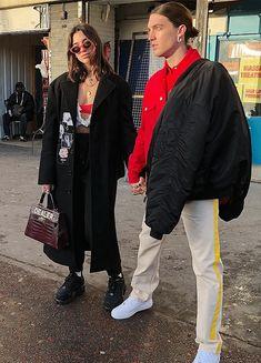 Dua Lipa and Paul Klein in London (12/12)