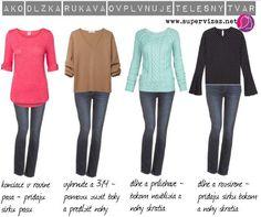 Ako vybrať vhodné rukávy Soft Summer, My Style, Sleeves, Polyvore, Pink, Colour, Outfits, Image, Fashion