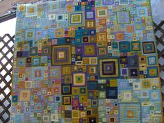 Crazy Log Cabin quilt... HPIM0342