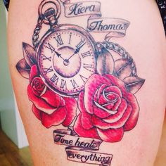 Lost time clock; tattoo design by Blaze #clock #time # ... |Lost Time Tattoo Ideas