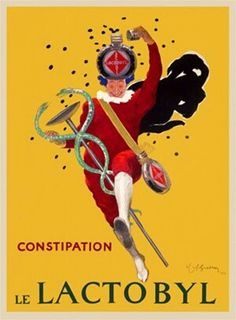 Vintage Advertising Posters | Constipation Cure