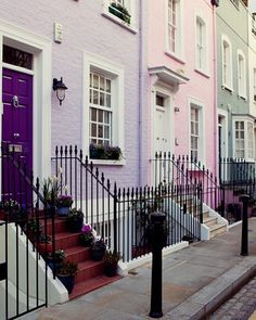 Notting Hill street - London by © Irene Suchocki via ysvoice : fuckitandmovetolondon : britain-land-of-hope-and-glory London City, Notting Hill London, Oh The Places You'll Go, Places To Travel, Places To Visit, Travel Destinations, Voyage Europe, Adventure Is Out There, Brighton