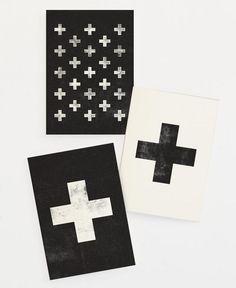 Swiss Set als Grußkarten-Set von THE MOTIVATED TYPE | JUNIQE
