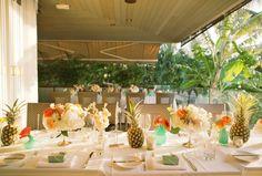 Tropical Wedding Table - Anna Kim Photography