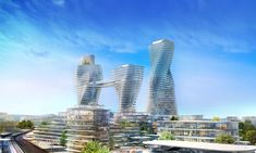 Tashkent City architectural projects, please visit our page to view project details and photos. Urban Park, Conceptual Design, Convention Centre, San Francisco Skyline, Skyscraper, National Parks, Landscape, Architecture, City