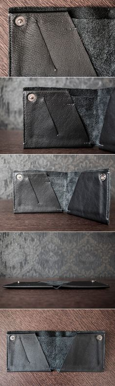 Handcrafted Minimalist Leather Wallet