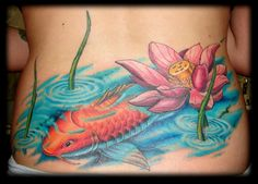 Koi-Lotus Tattoo