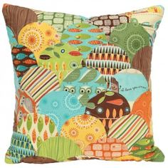 GO! Clamshell Cove Pillow Pattern (PQ10302)