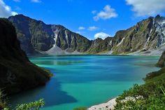 Mount Pinatubo crater lake in Botolan, Zambales