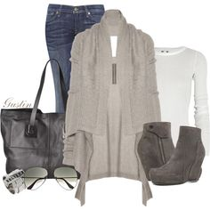 """Rick Owens"" by stacy-gustin on Polyvore"
