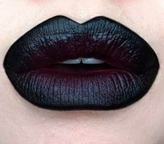Love this ombre lip!