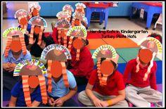 Herding Kats in Kindergarten: Adorable Turkey Hats & Positional Words!