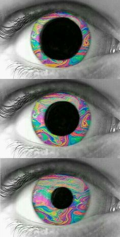 trippy psychedelic eye drugs edit by dixieee normous