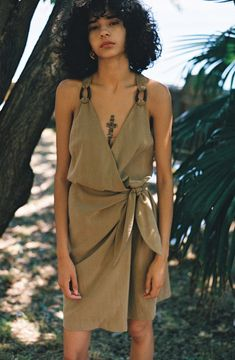 Spring/Summer 2018 'Angel Heart' The collection embodies the season's muse, Lisa Bonet from the late 80's movie Angel Heart. Lisa's spiritual, earthy character