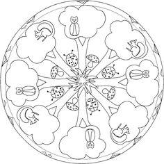mandala animaux de la foret - Recherche Google