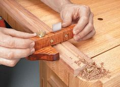 Traditional Scratch Stock | Woodsmith Plans