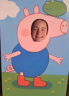 peppa pig photo booth - Google Search